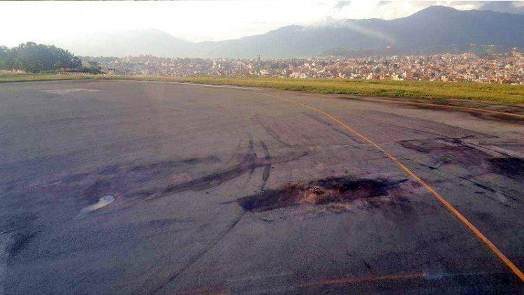 त्रिभुवन विमानस्थलको धावनमार्ग चैत १८ गतेदेखि स्तरोन्नति हुने