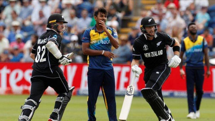 विश्वकप क्रिकेट : श्रीलंकामाथि न्युजिल्यान्डको शानदार जीत