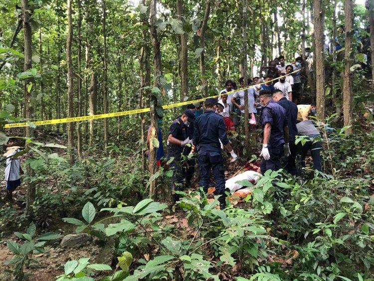 सैनामैनाको सामुदायिक वनमा एक किशोरी मृत फेला