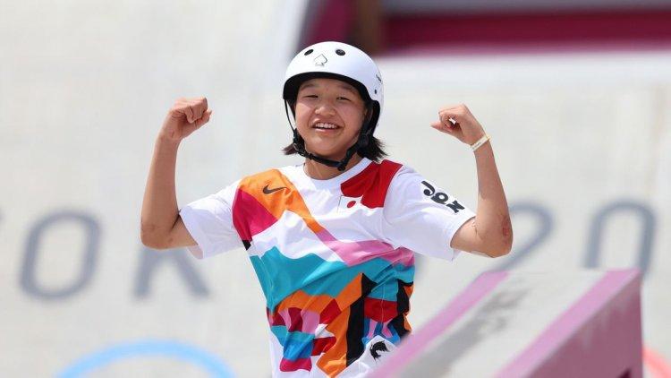१३ वर्षीया जापानी खेलाडी जसले टोक्यो ओलिम्पिक्समा स्वर्ण पदक जितेर रचिन् इतिहास